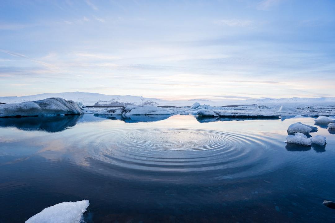 Jökulsárlón glaciers