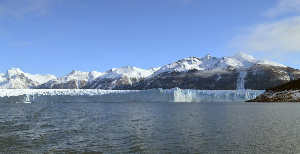 landscape photography of iceberg melting during daytime