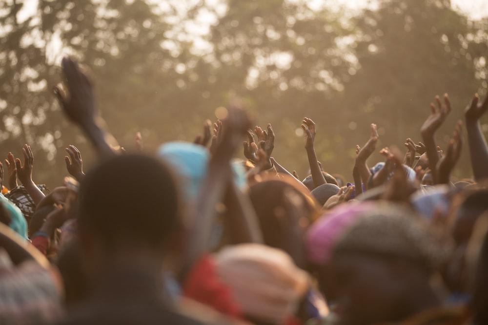 people dancing during daytime