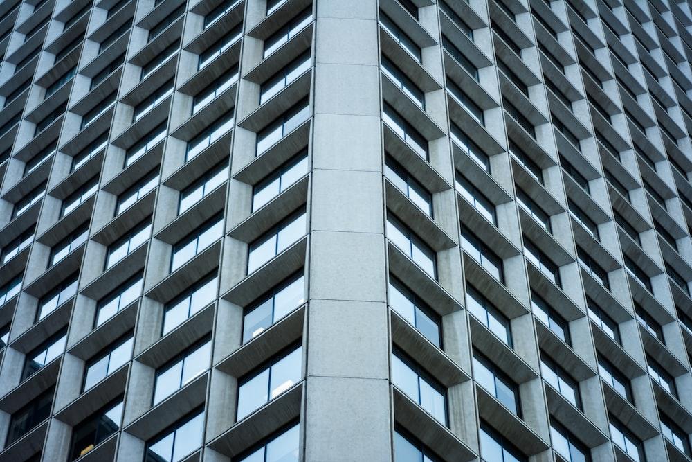 concrete high-rise building
