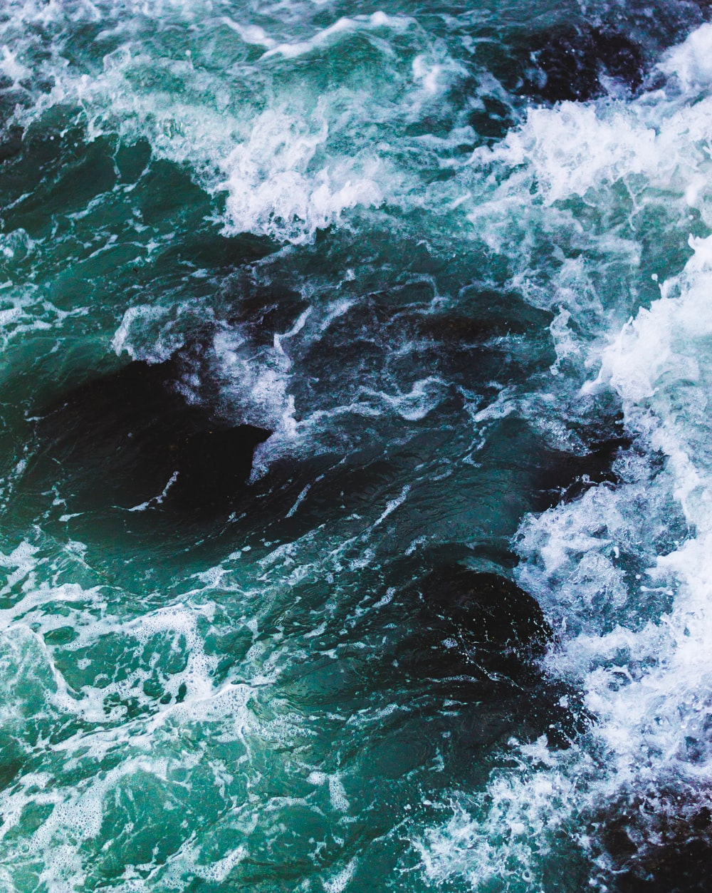 time lapse photography of sea wave