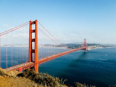 golden gate bridge usa zoom background