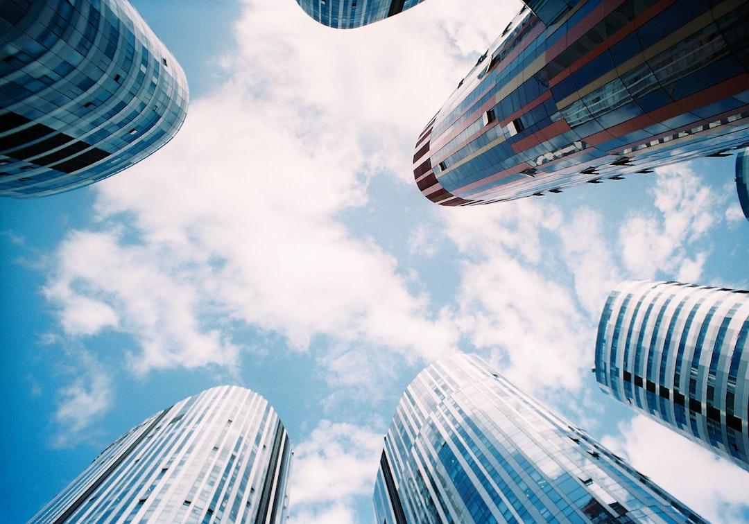 Skyscraper mosaic