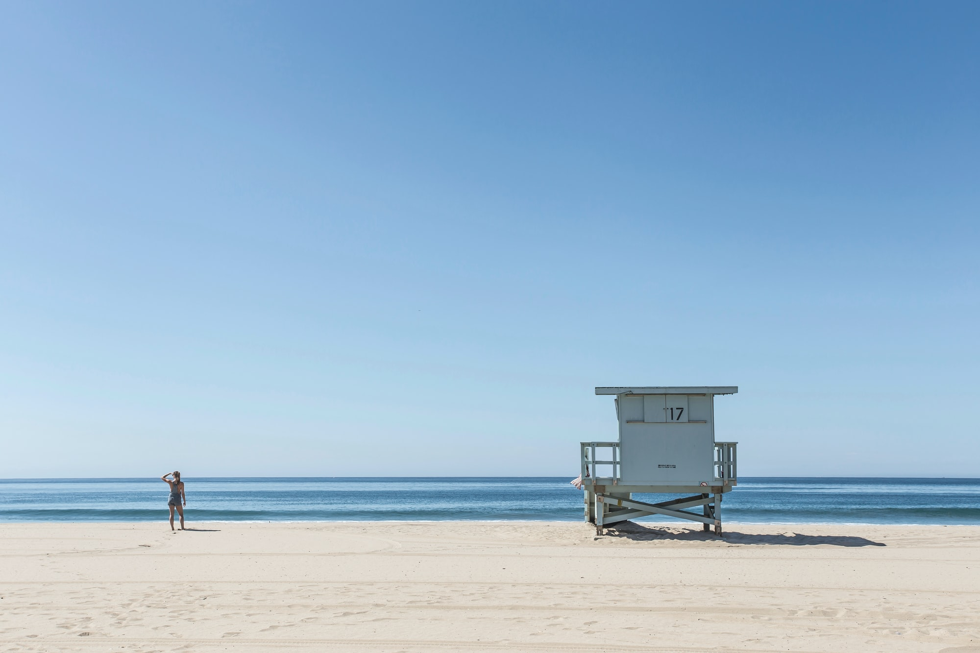 Beach at Los Angeles, California, United States