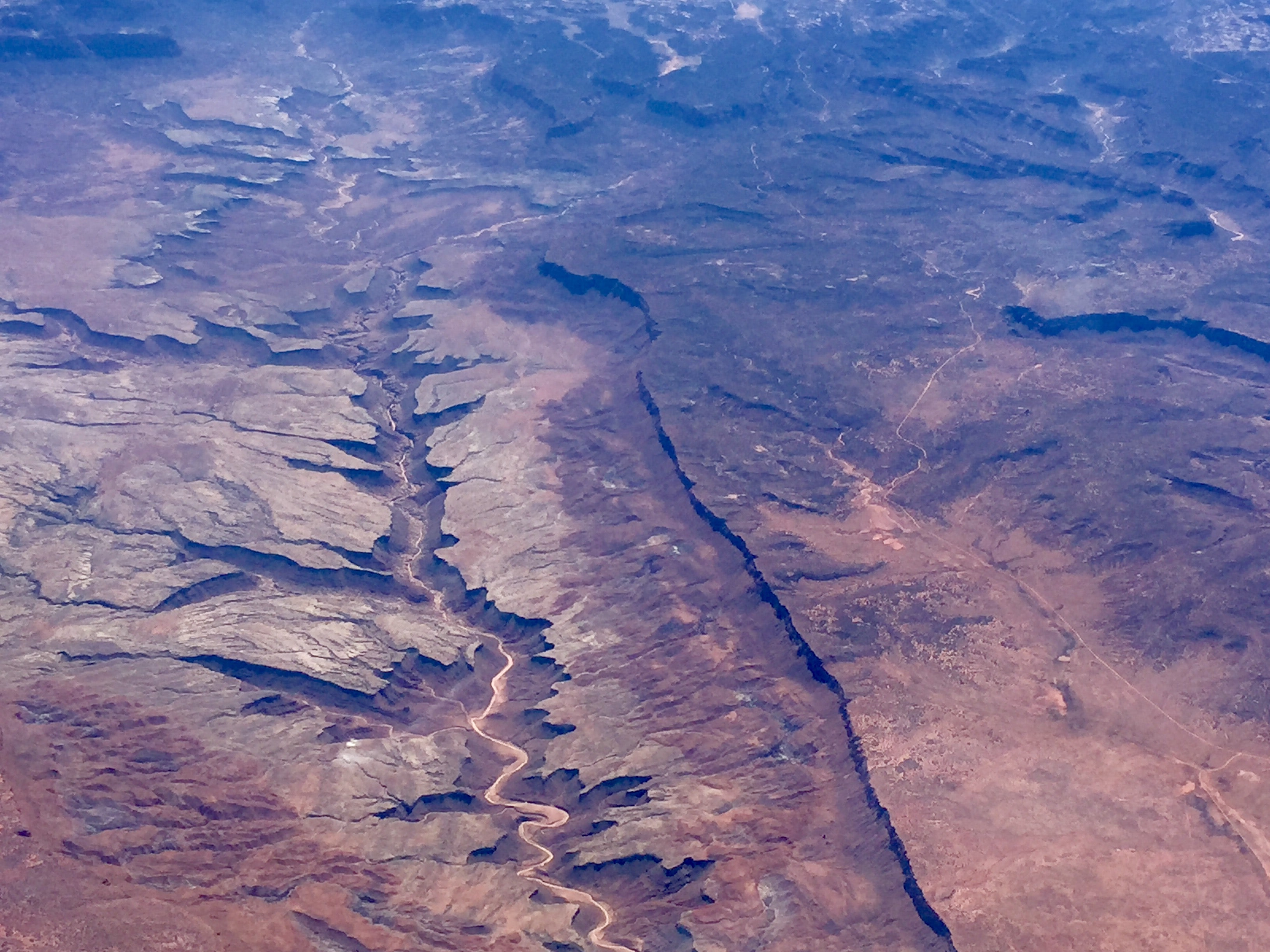 aerial photo of Grand Canyon, Arizona