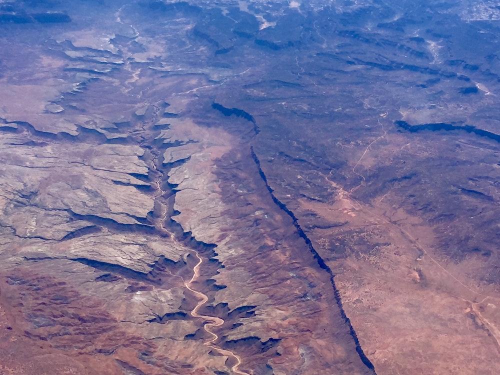aerial photo of Grand Canyon, Arizona