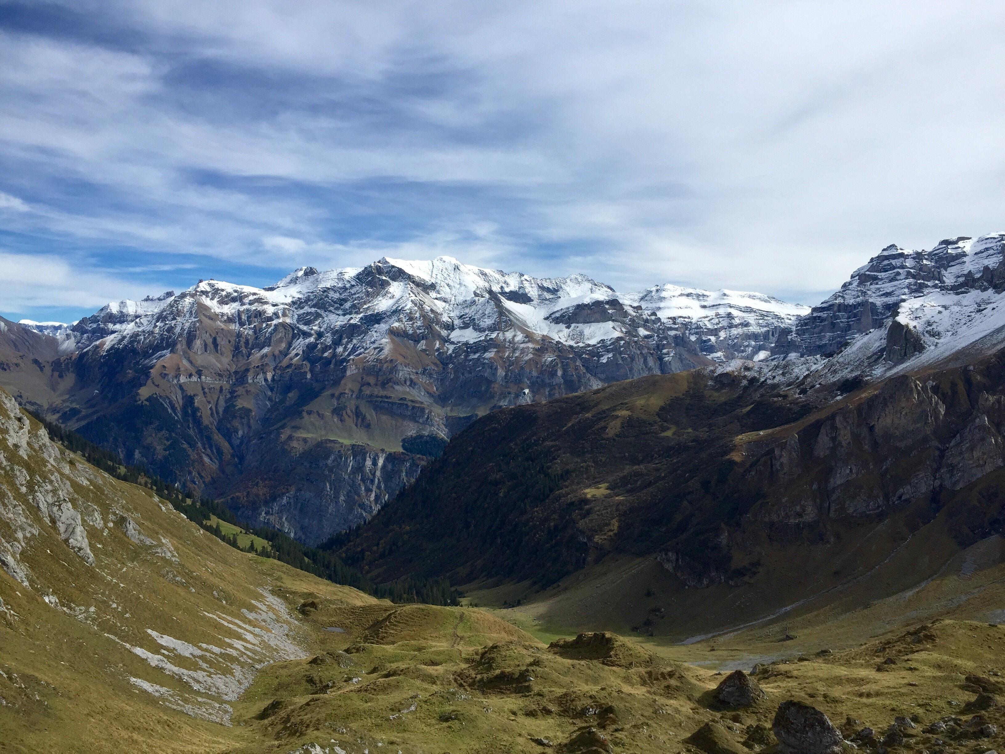 photo of mountain during daytime