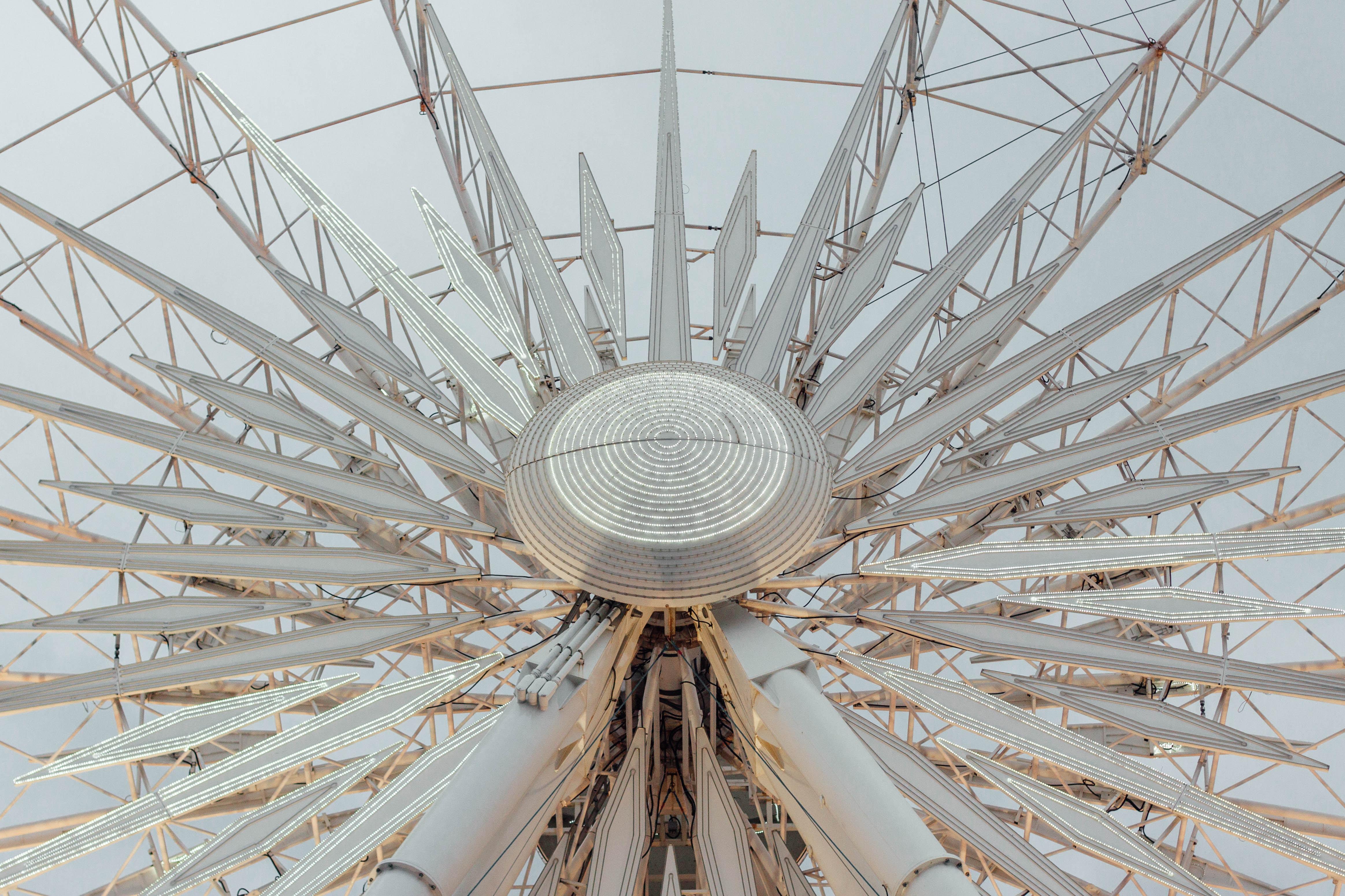 photo of gray Ferris wheel