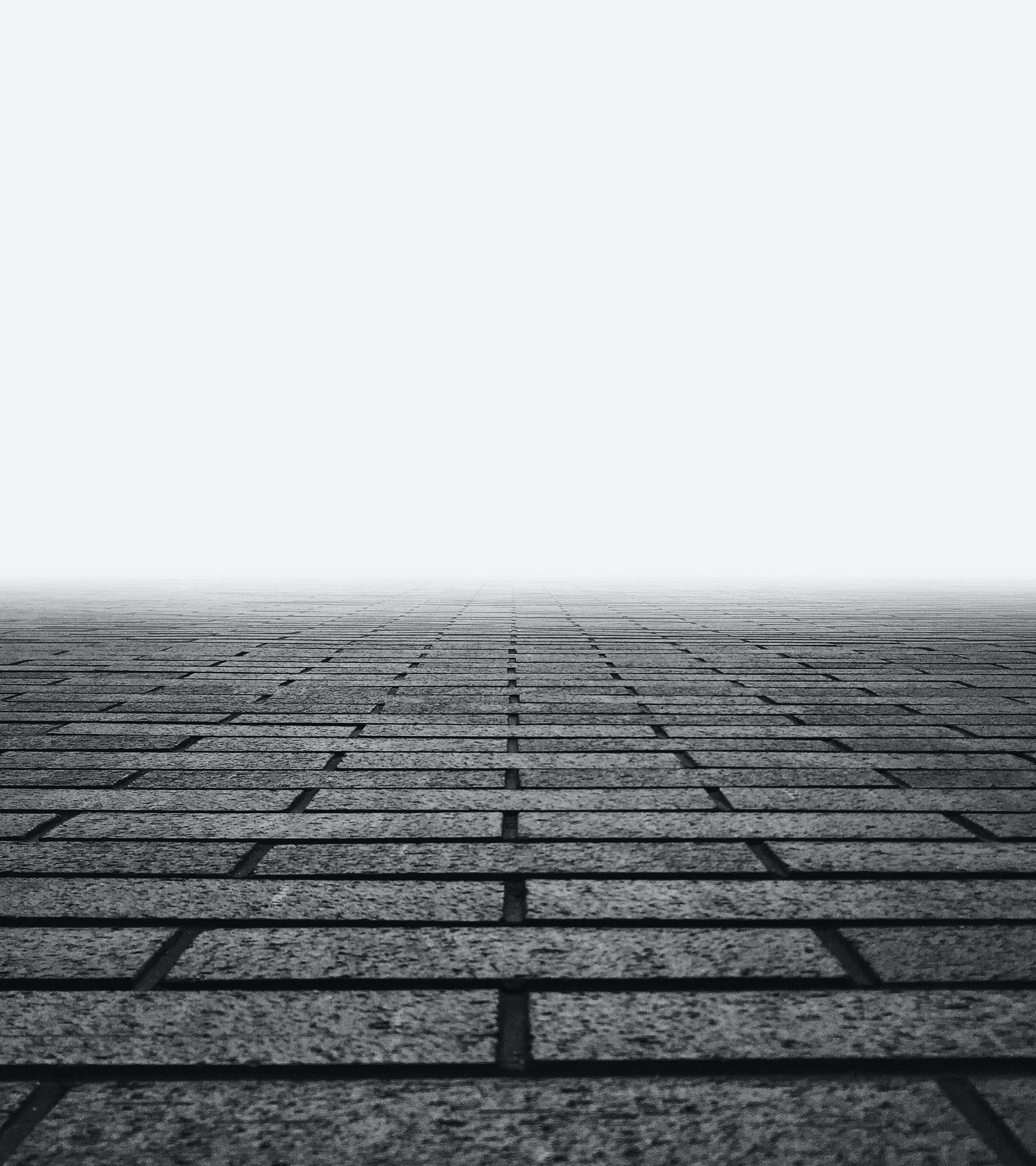 photo of gray concrete floor with fogs