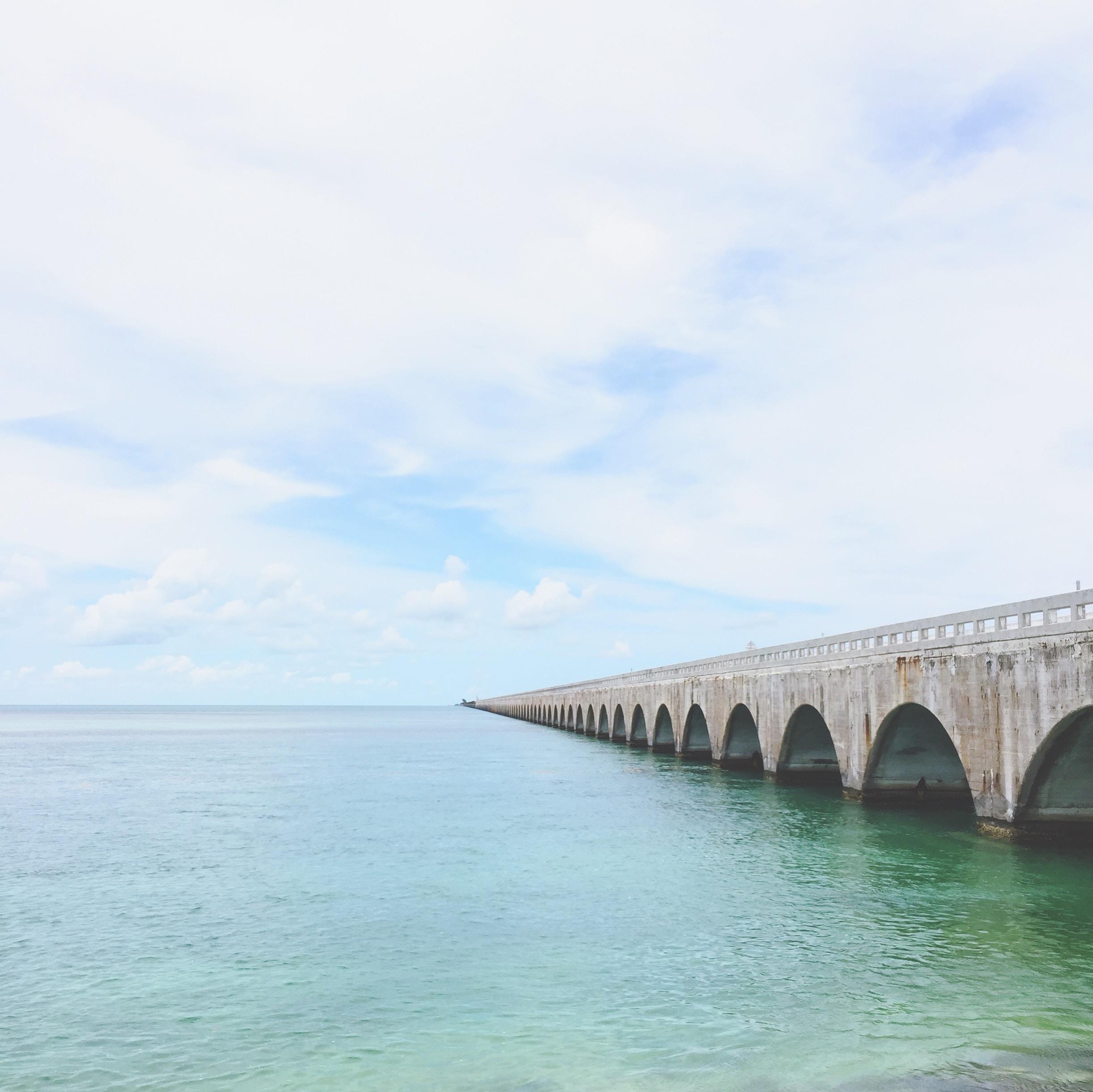 panoramic photography of bridge