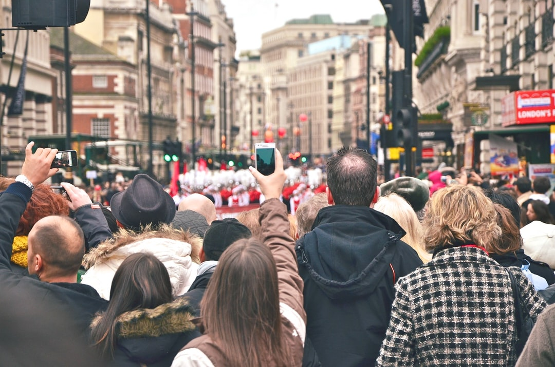 Parade in London