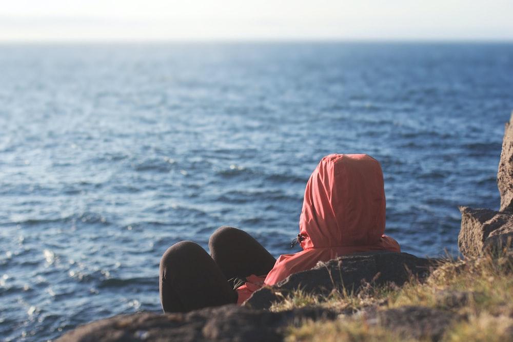 red hijab headdress