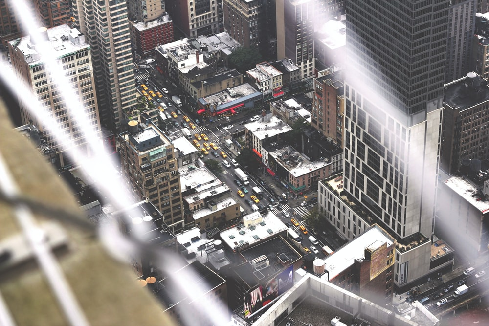 aerial photography of cityscape at daytime