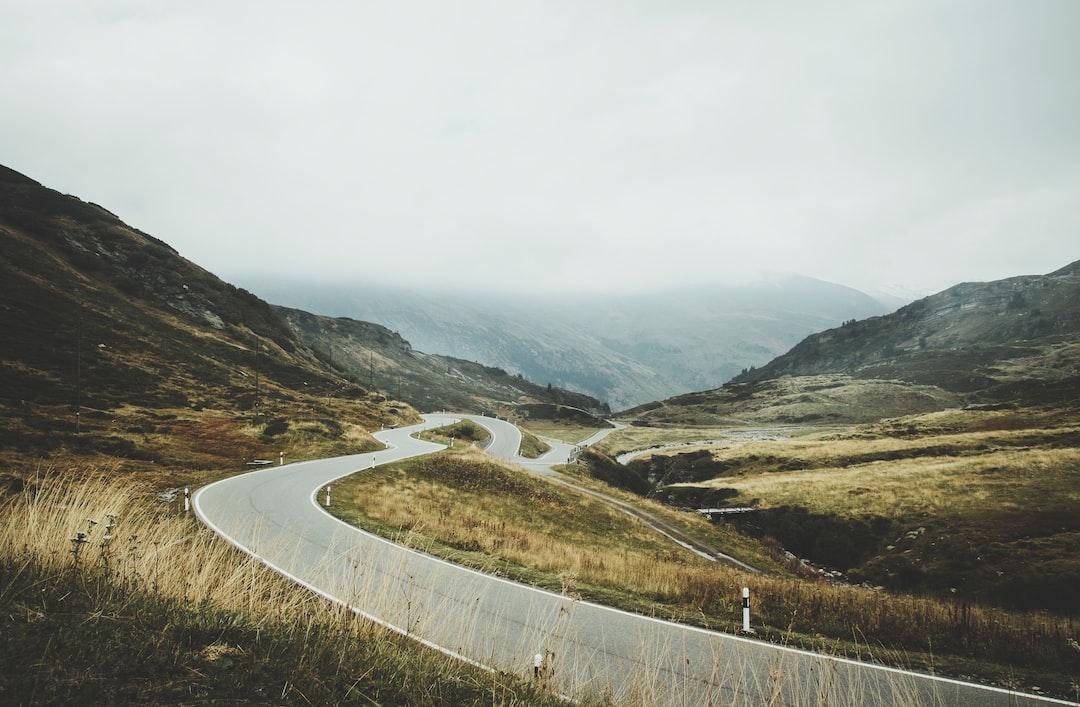 Misty Mountain Roads