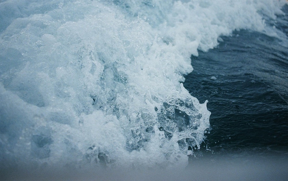 photo of tidal waves