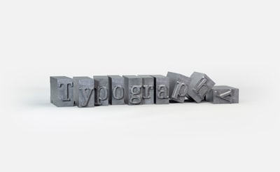 black and gray plastic blocks typography zoom background