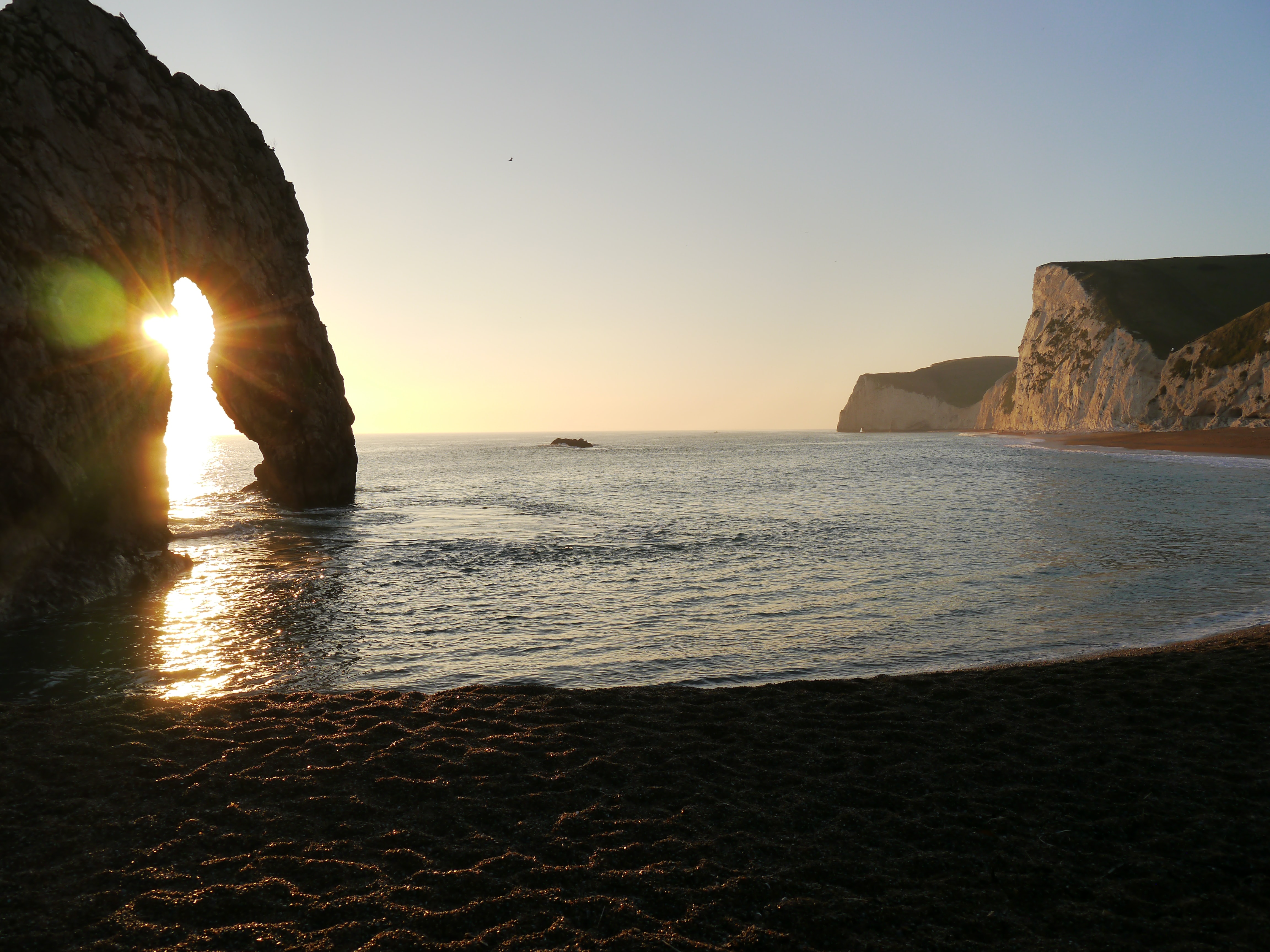 a cove on the jurassic coast