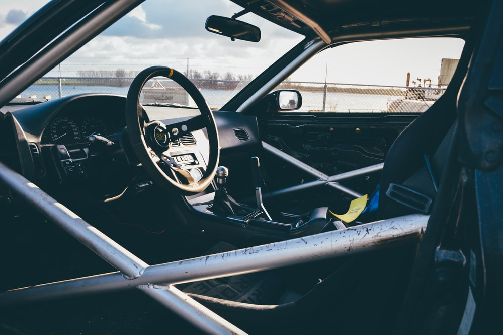 racing car interior