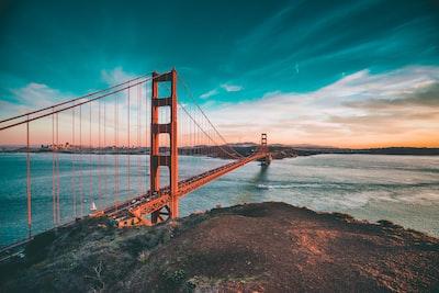 the pride of san francisco, golden gate bridge