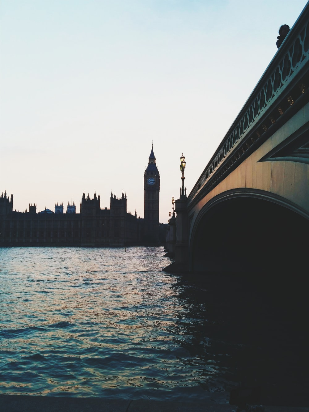 Westminster Palace and Elizabeth Tower, London