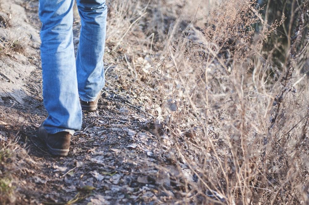 person walking
