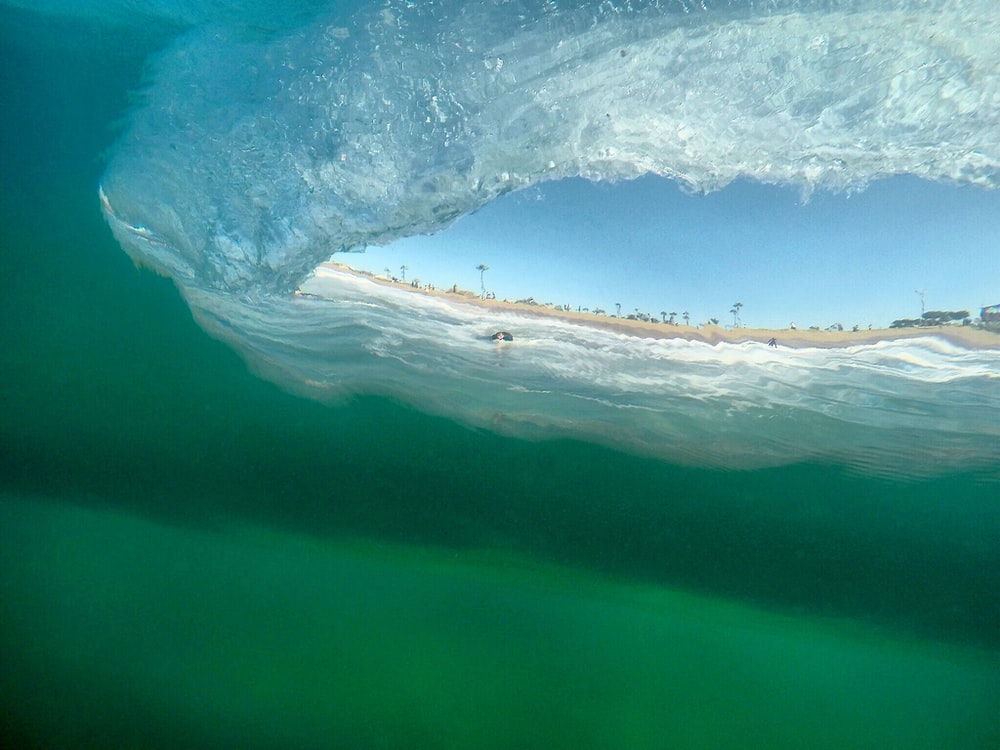 under water camera capture