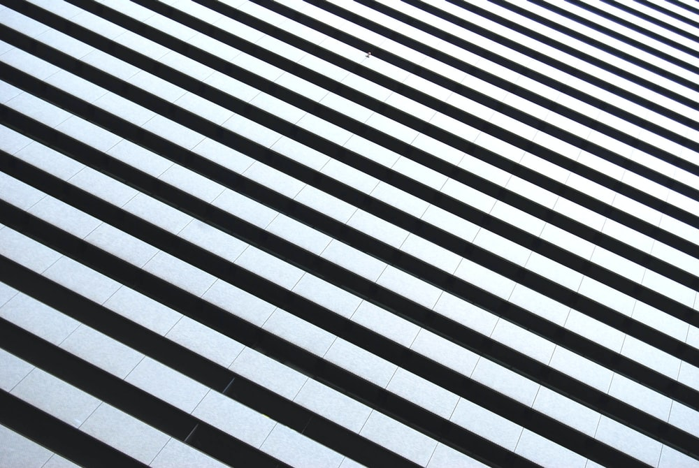 white and black striped illustration