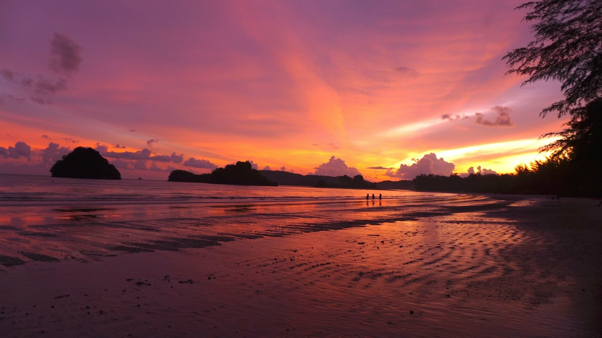 Stunning Sunsets at Krabi, Things to do in Thailand in March