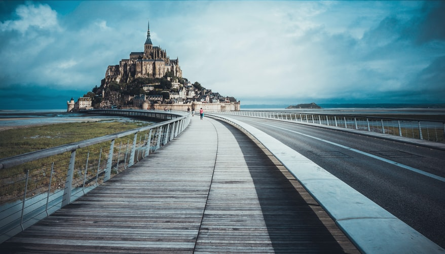 Mont-Saint-Michel Abbey, France, Iconic Landmarks in Europe