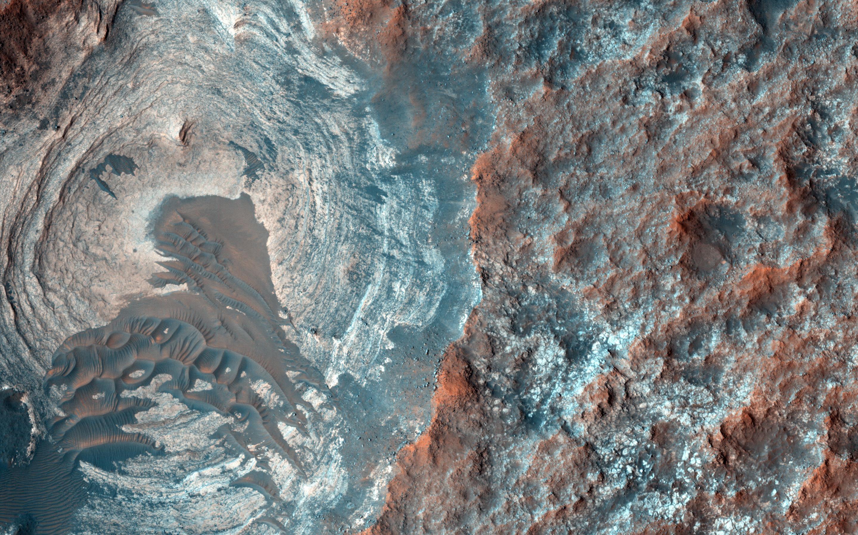 Agua en Marte: Kim Stanley Robinson la pegó