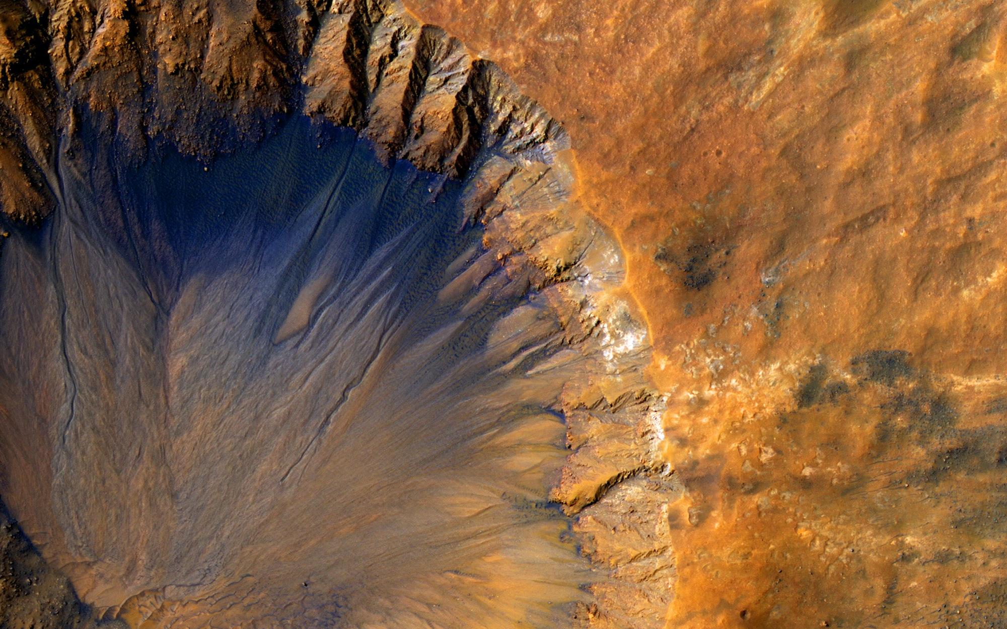 A Warm, Wet (but still stinky) Mars