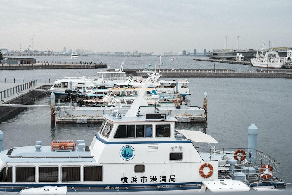 boats near dock