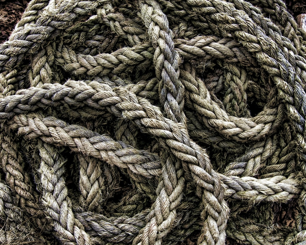 brown rope