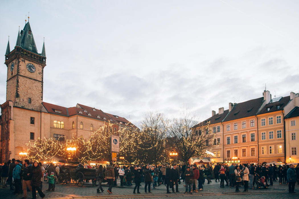 Prague, Places to Spend Christmas in Europe