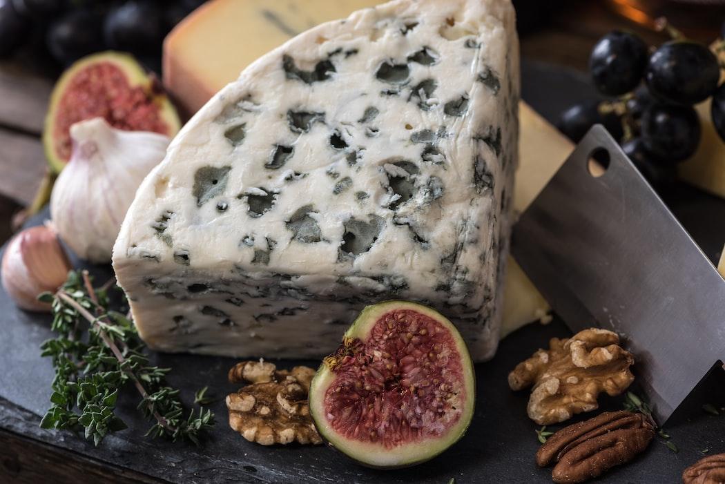 Greek yogurt, blue cheese