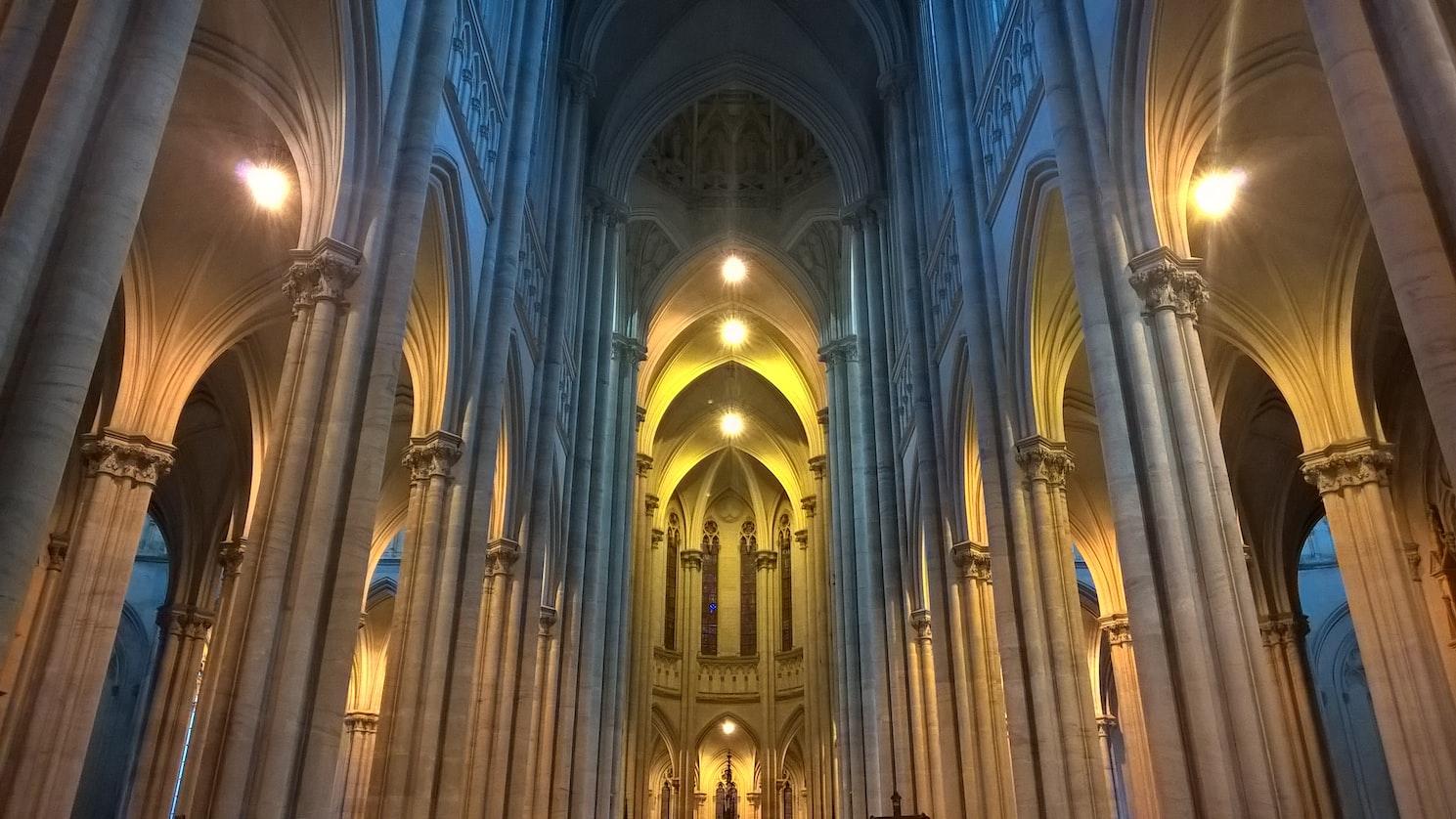 A cathedral in La Plata