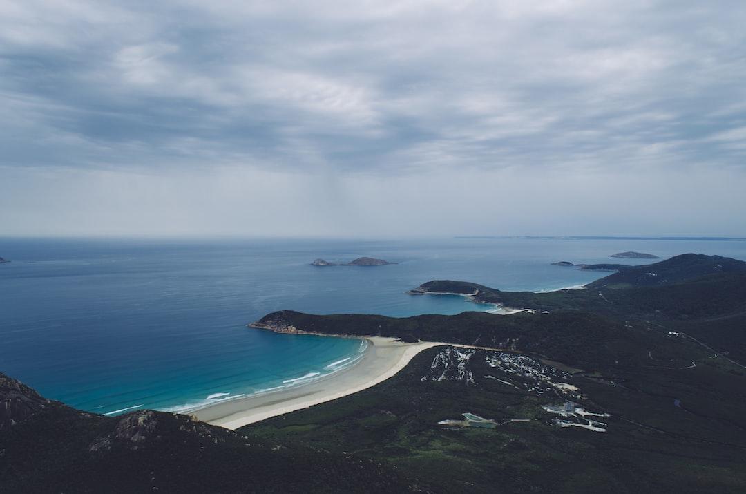 Coastline near Mount Oberon