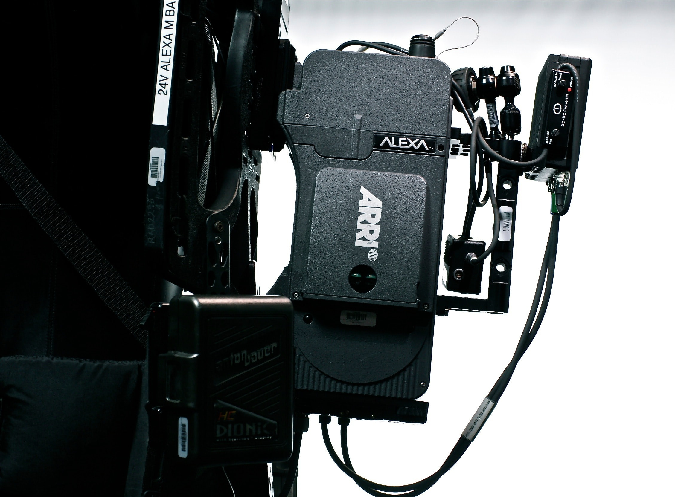 Black ARRI Alexa movie camera recording equipment technology