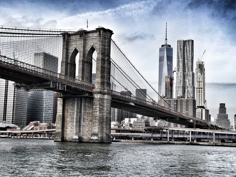 Brooklyn Bridge during daytime