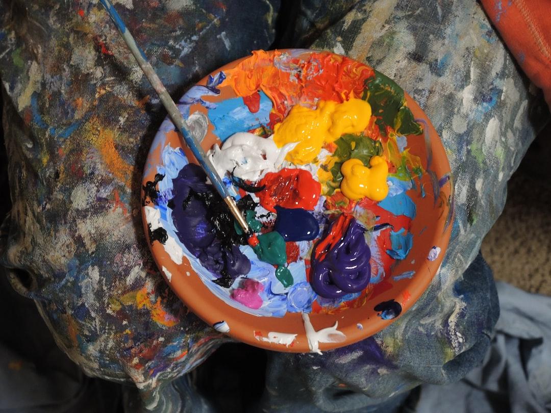 Mix of paints