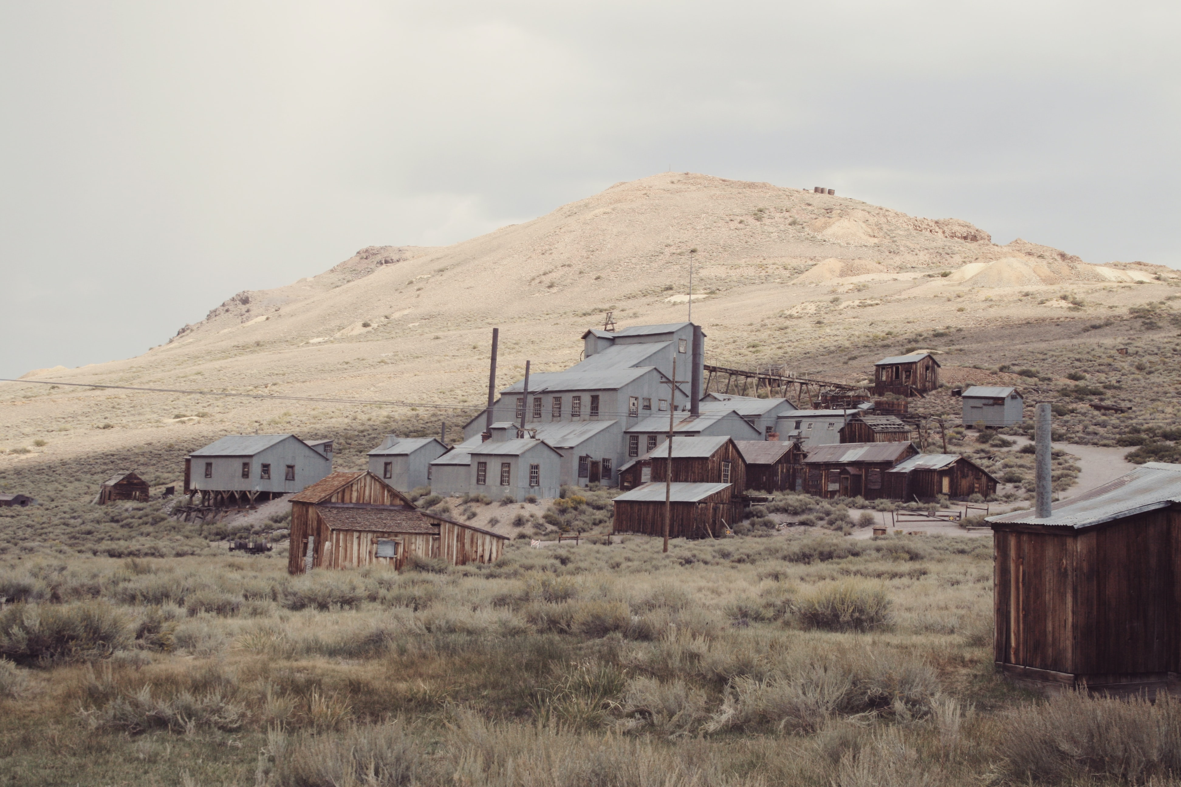 Abandoned ghost town