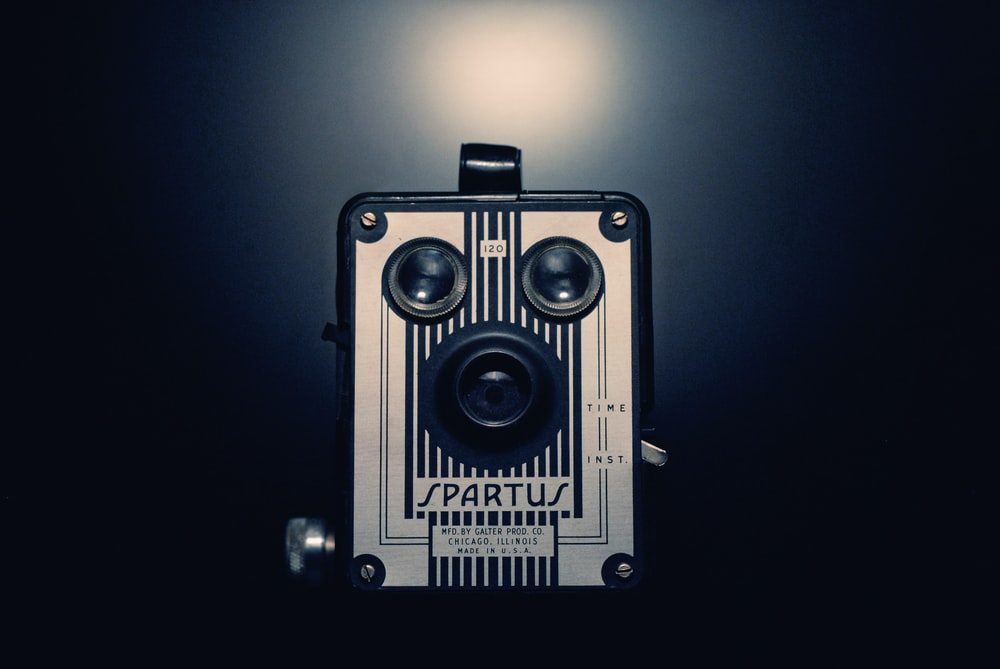 gray and black Spartus camera