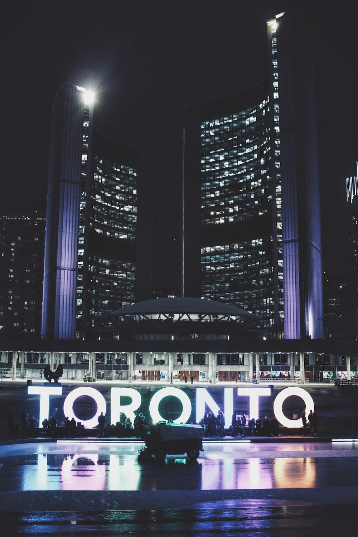 Toronto during nighttime