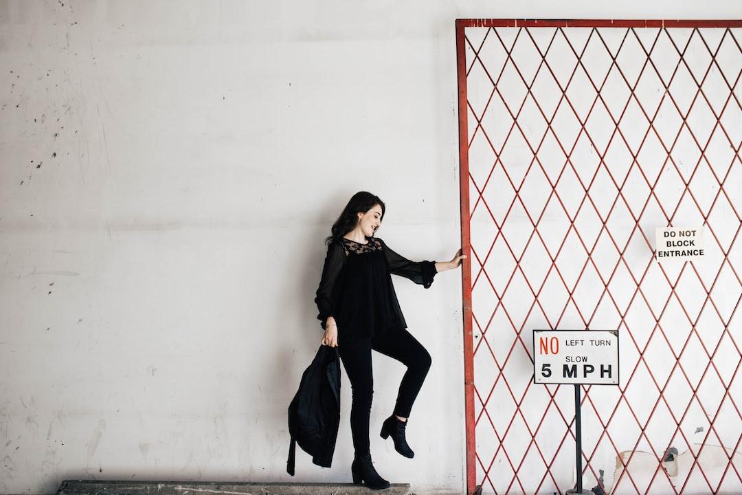 Woman Entrance Gate Signs