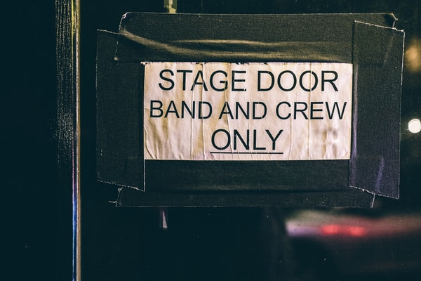 SGN Team Grows. stage door band and crew only