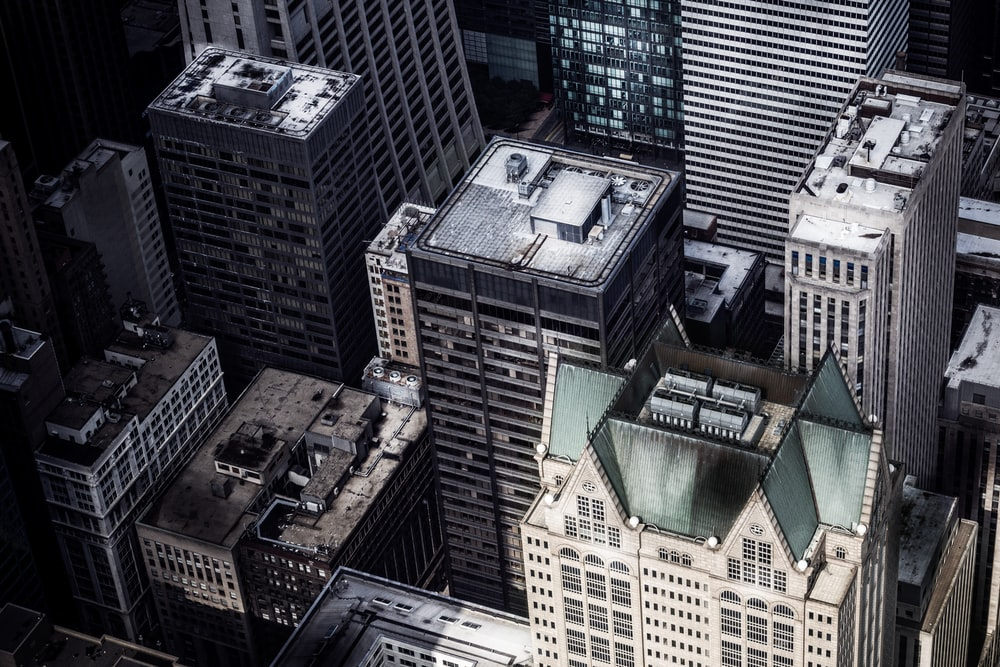areal photography of high rise building