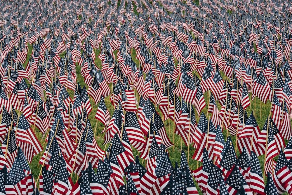US flag lot