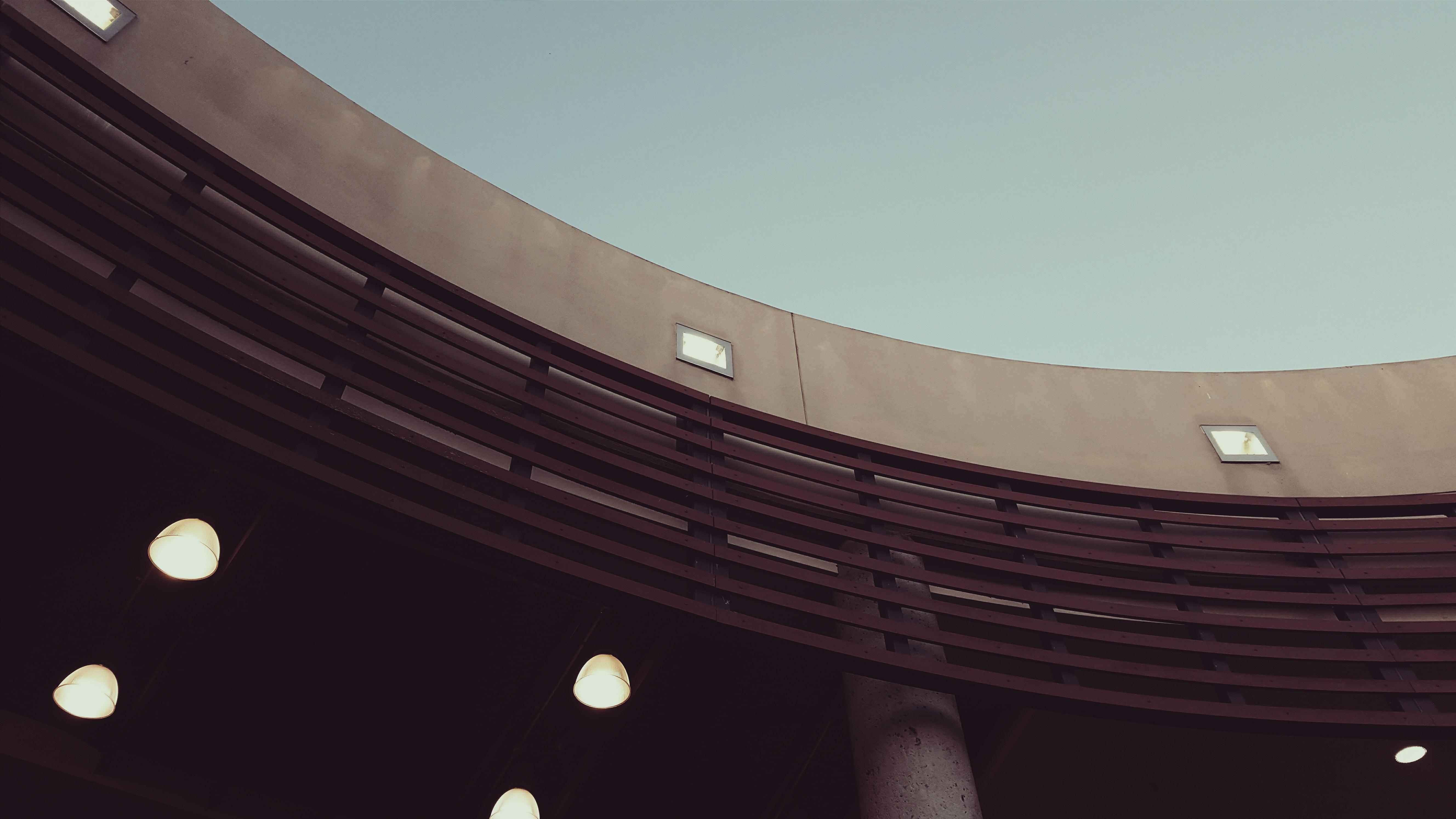 grey concrete structure