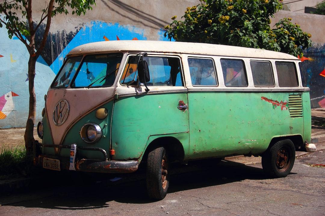 São Paulo vintage VW van