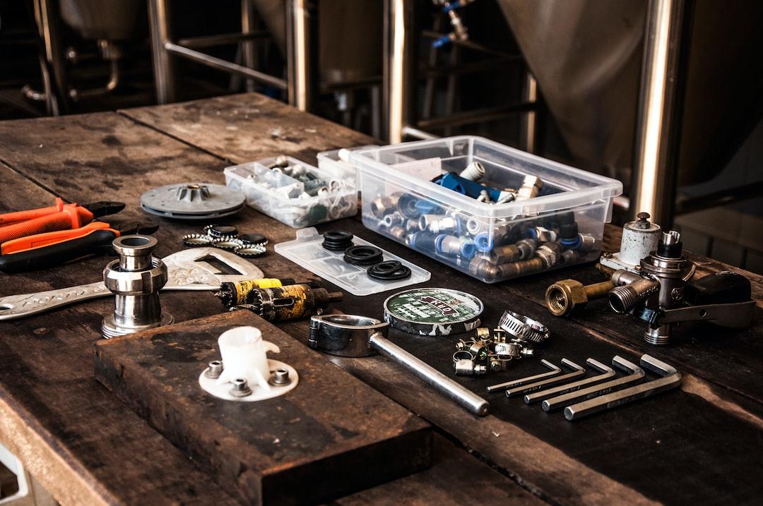 Plumbing toolkit items